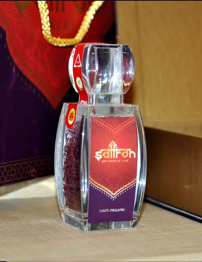 Bộ sản phẩm Nhụy hoa nghệ tây saffron SALAM trà hoa cúc hộp 25g NT004 3