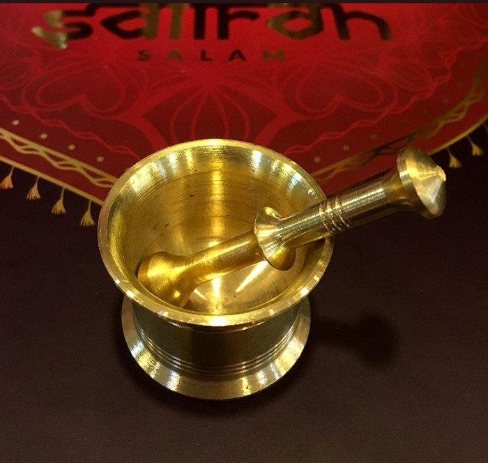 Bộ sản phẩm Nhụy hoa nghệ tây saffron SALAM trà hoa cúc hộp 25g NT004 8