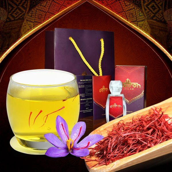 Nhụy hoa nghệ tây IRAN cao cấp Saffron SALAM hộp 1g NT007