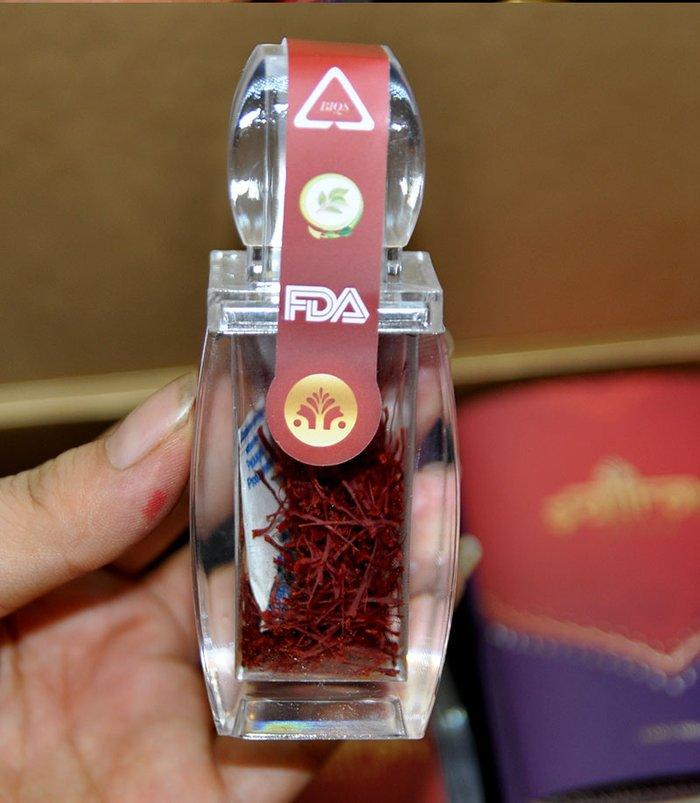 Nhụy hoa nghệ tây IRAN cao cấp Saffron SALAM hộp 1g NT007 6
