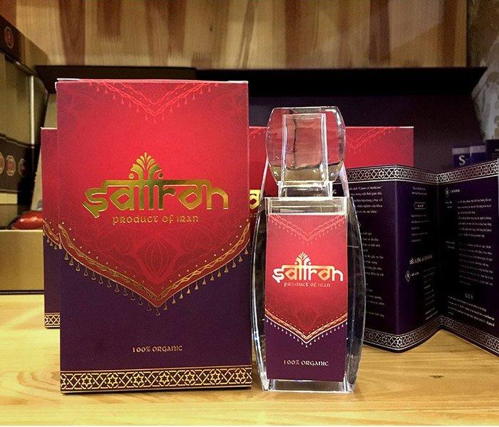 Nhụy hoa nghệ tây IRAN cao cấp Saffron SALAM hộp 2g NT008 2
