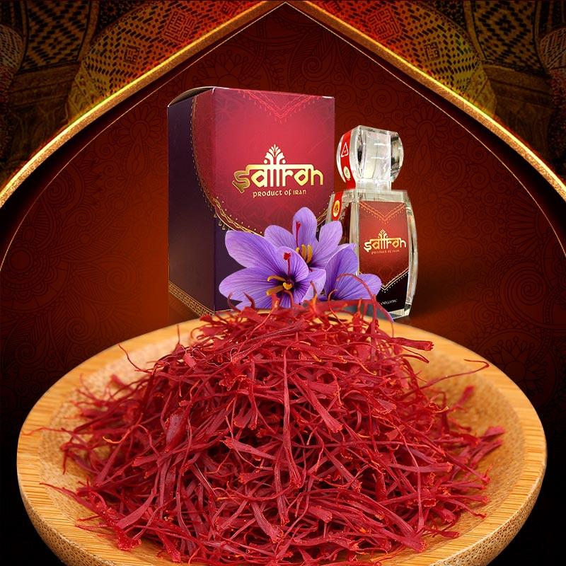 Nhụy hoa Nghệ Tây IRAN cao cấp Saffron SALAM hộp 3g NT001