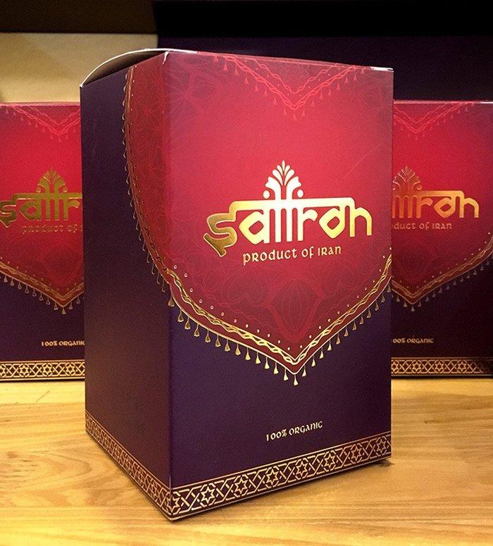 Nhụy hoa Nghệ Tây IRAN cao cấp Saffron SALAM hộp 3g NT001 2