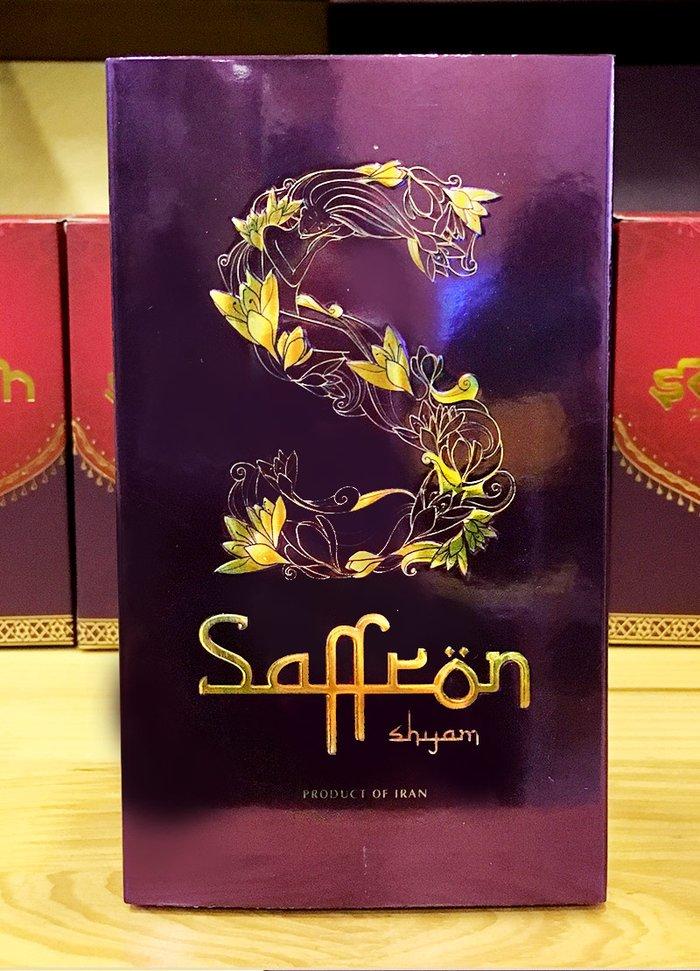Nhụy hoa nghệ tây IRAN đặc biệt Saffron SHYAM hộp 1g NT005 1