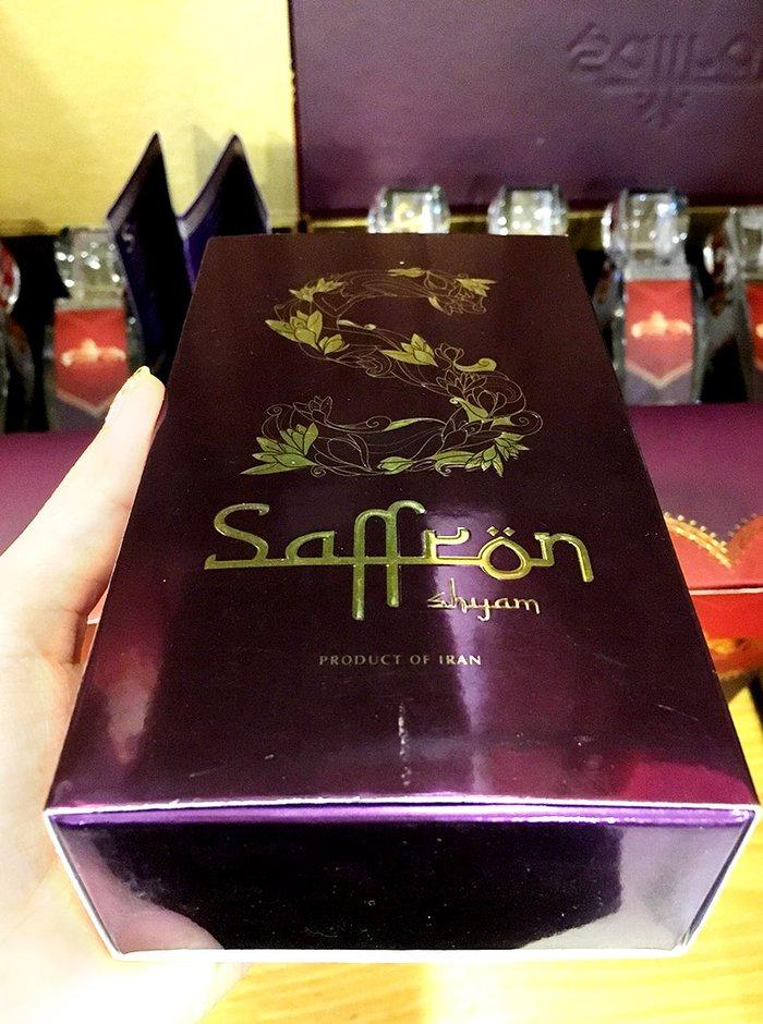Nhụy hoa nghệ tây IRAN đặc biệt Saffron SHYAM hộp 1g NT005 2