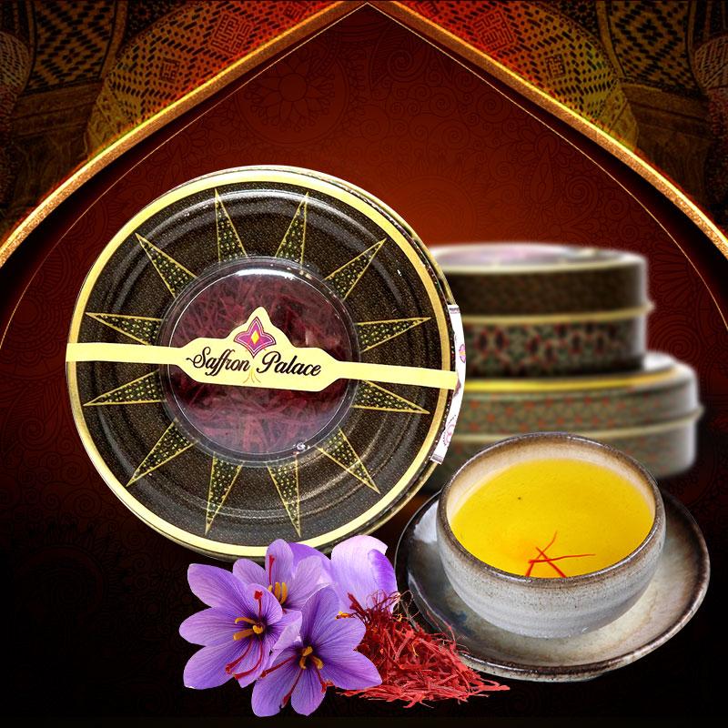 Saffron Palace Negin nhập khẩu loại 1 hộp 1 gram