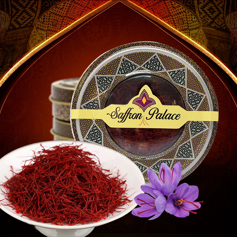 Saffron Palace Negin nhập khẩu loại 1 hộp 10 gram
