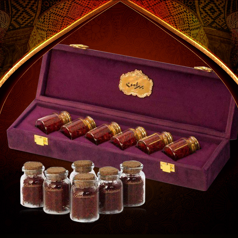 Saffron Iran BAHRAMAN Set hộp quà 12g