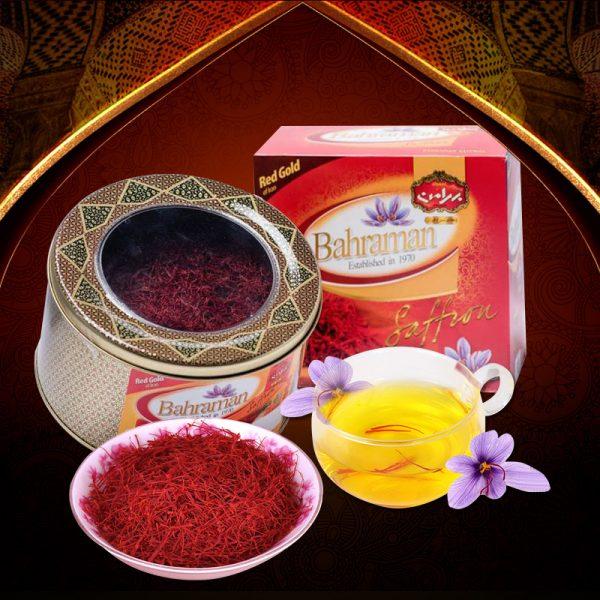 Saffron Iran BAHRAMAN hộp 100 gram
