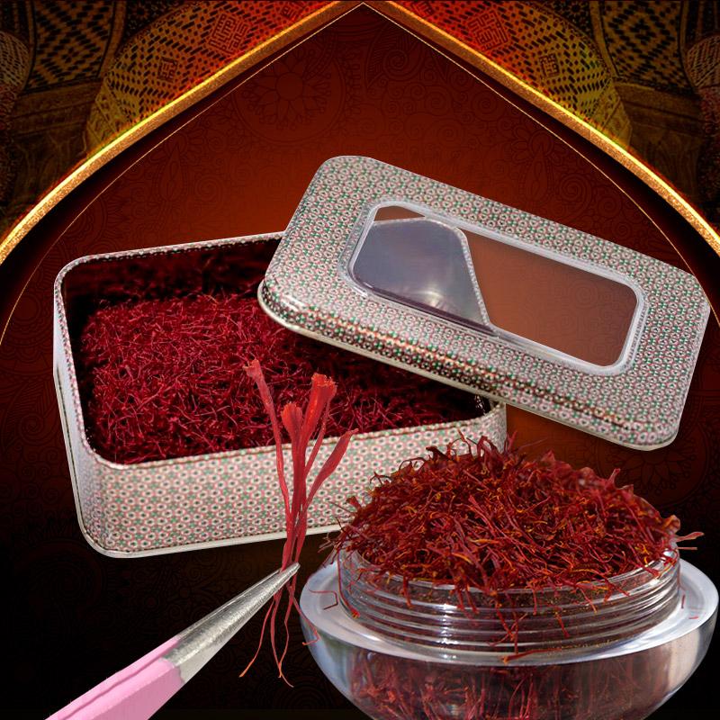 Saffron Iran BAHRAMAN hộp 25 gram