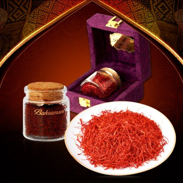 Saffron Iran BAHRAMAN Set hộp quà 8gram