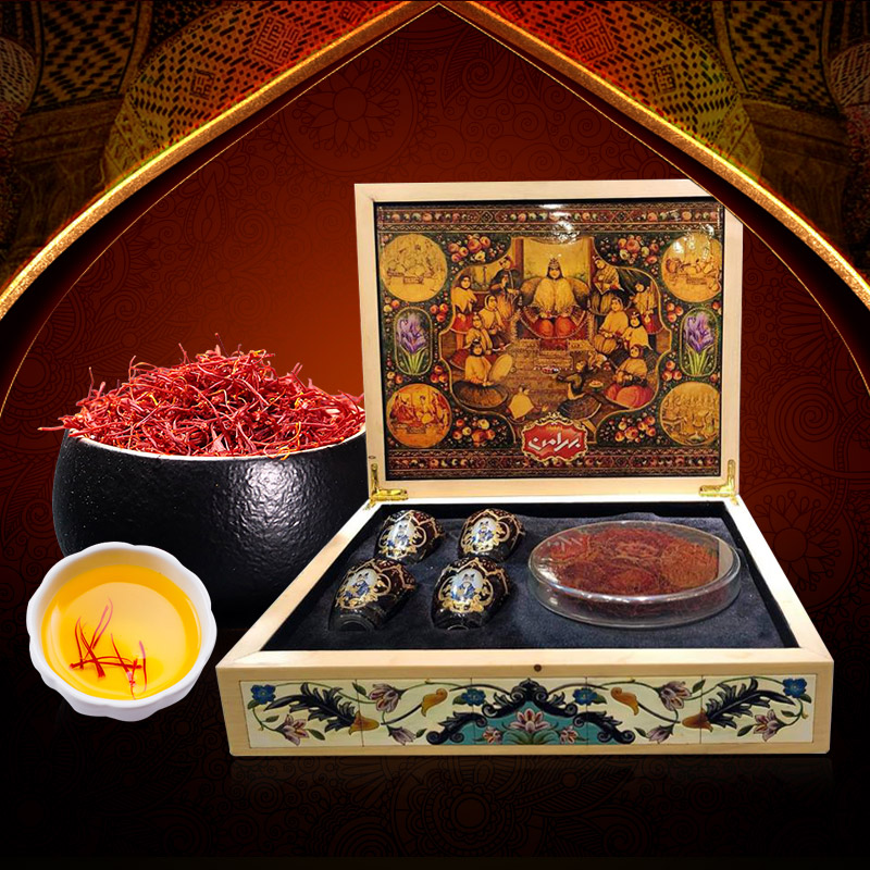Saffron Iran BAHRAMAN Set quà 23g