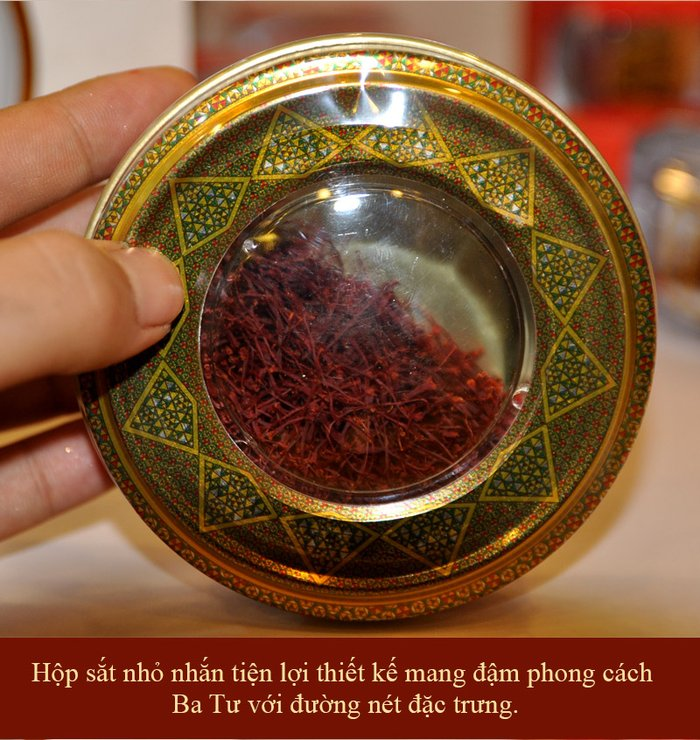 Saffron Iran BAHRAMAN Hộp 5 gram NT014 6