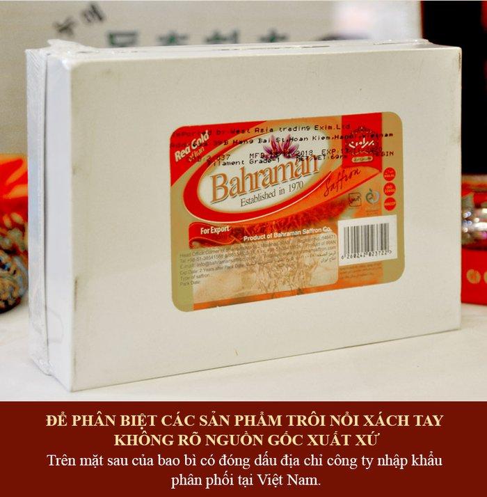 Saffron Iran  BAHRAMAN Set quà 6 gram NT015 2